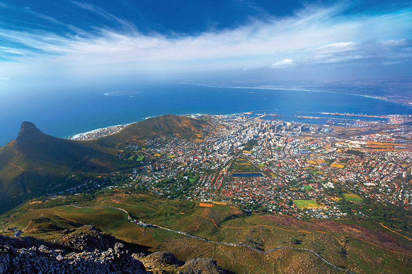 image Afrique du Sud Le Cap Vue aerienne  it