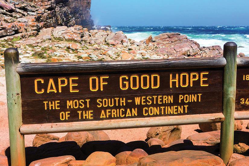 image Afrique du Sud Plaque au Cap de Bonne Esperance  fo