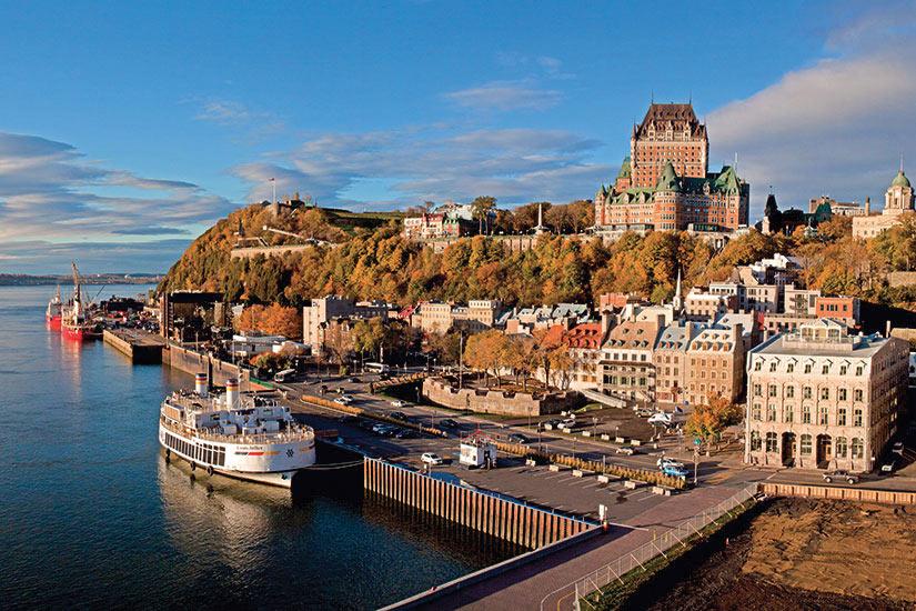 image Canada Quebec panorama ville  fo