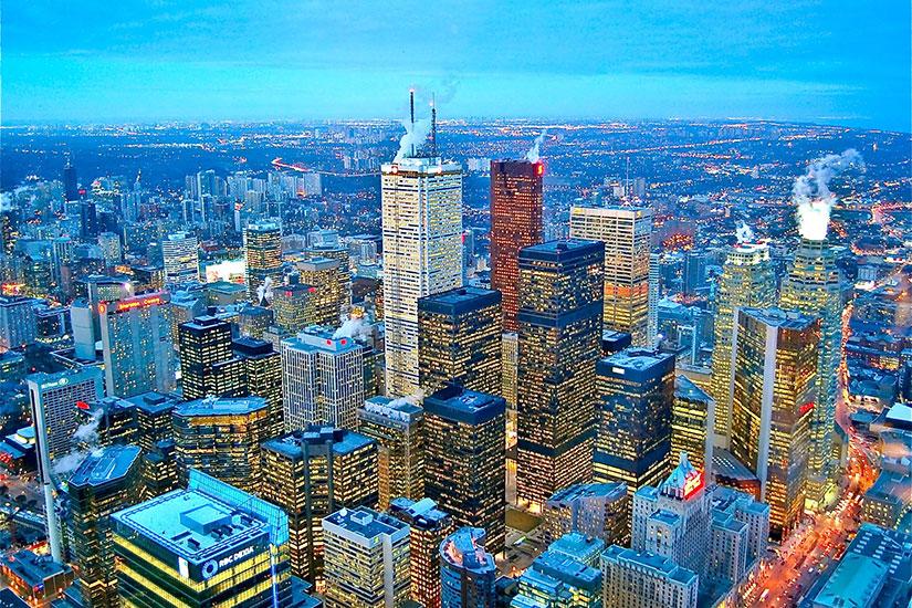image Canada Toronto quartier financier  fo