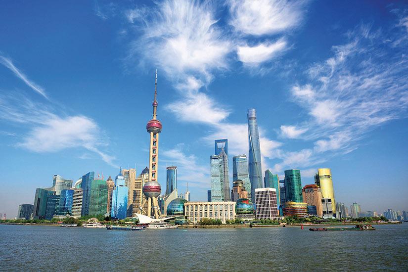 image Chine Shanghai Vue panoramique de la ville  it