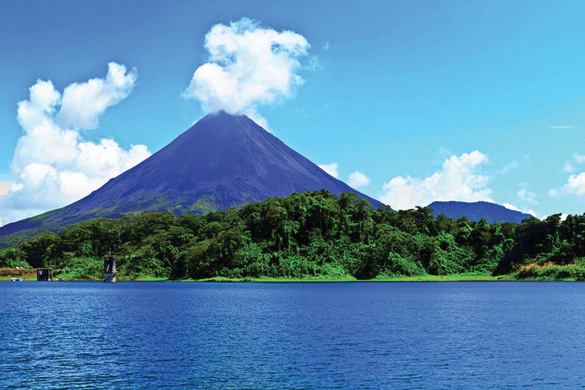 image Costa Rica Volcan Arenal Panorama  it