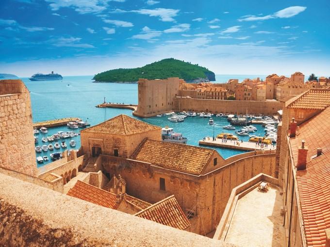 image Croatie dubrovnik port