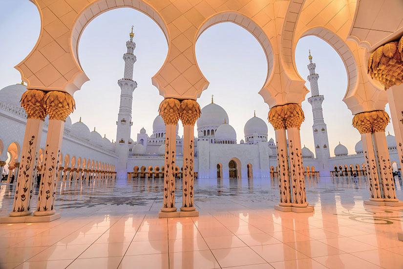 image Emirats Arabes Unis Abu Dhabi grande mosquee Sheikh Zayed  fo