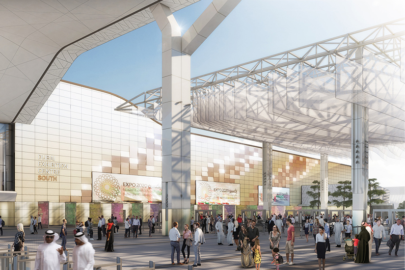 image Emirats arabes unis Dubai Expo 2020 site 01