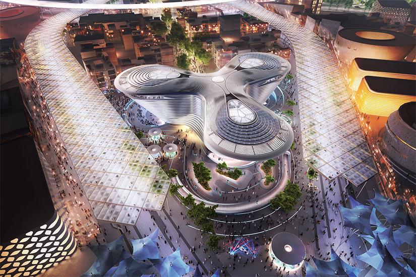image Emirats arabes unis Dubai Expo 2020 site 02