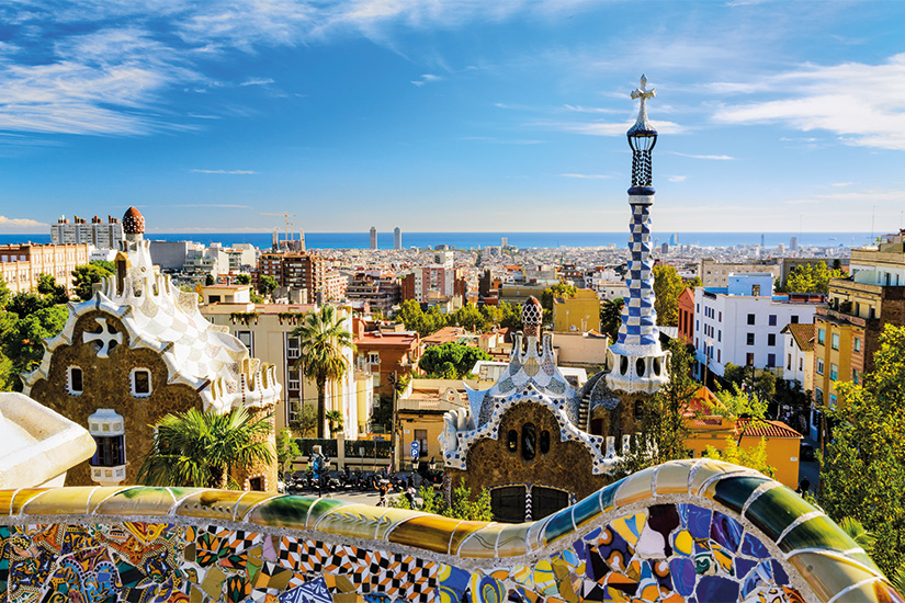 image Espagne Barcelone parc Guell 74 as_47262519