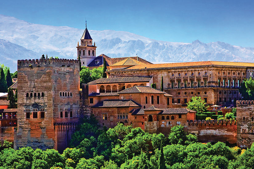image Espagne Grenade Alhambra Panorama  fo