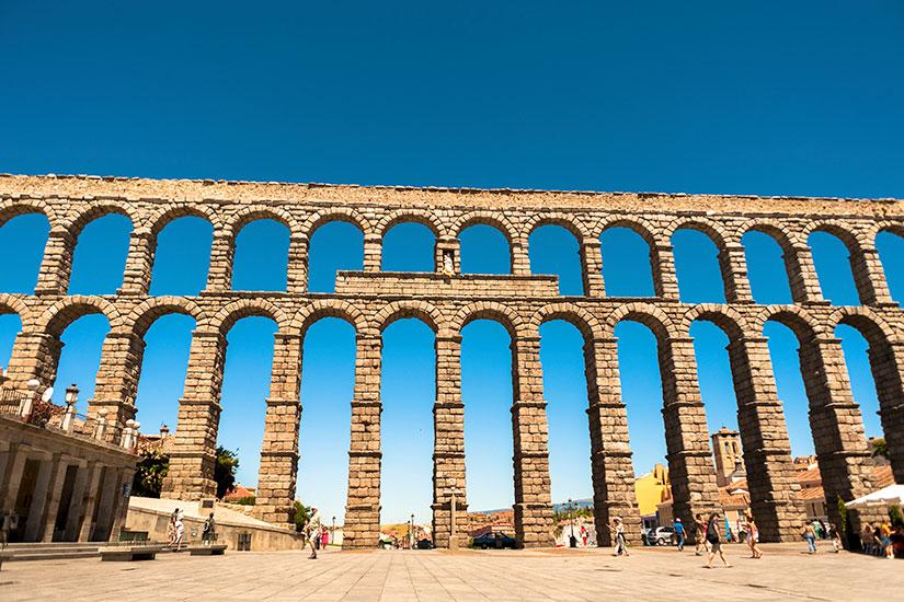 image Espagne Segovie Aqueduc romain  it