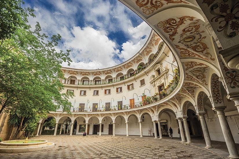 image Espagne Seville Plaza del Cabildo  fo