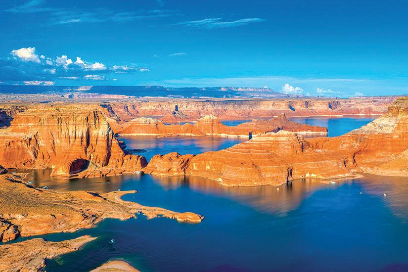 image Etats Unis Arizona Coucher de soleil sur le lac Powell  it
