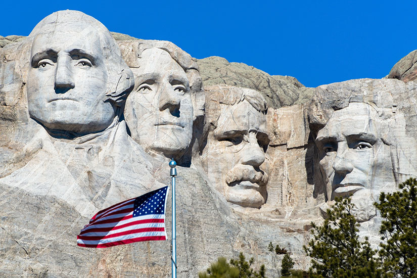 image Etats Unis Monument National Mont Rushmore  it