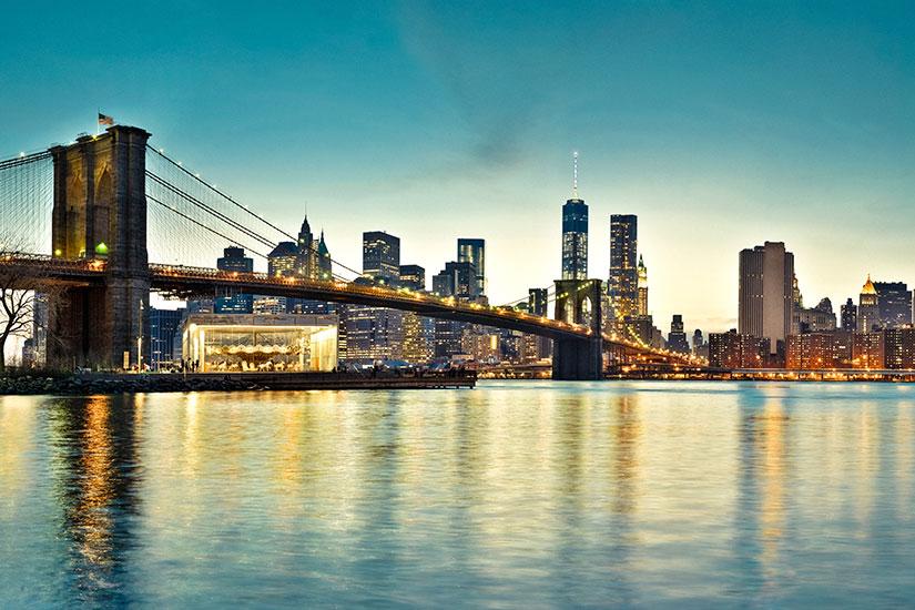 image Etats Unis New York pont