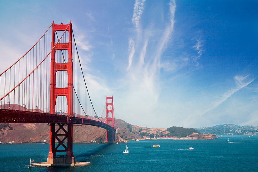 image Etats Unis San Francisco Pont Golden Gate  it