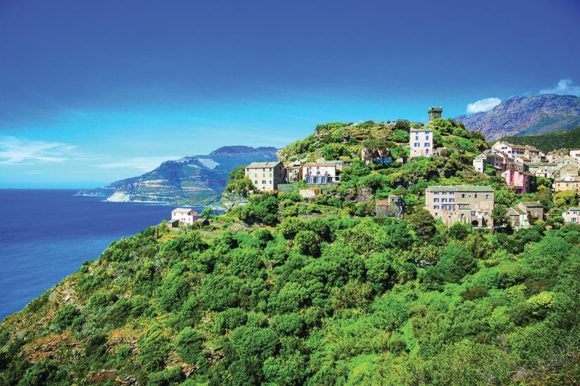image France Corse Cap Corse Panorama  fo