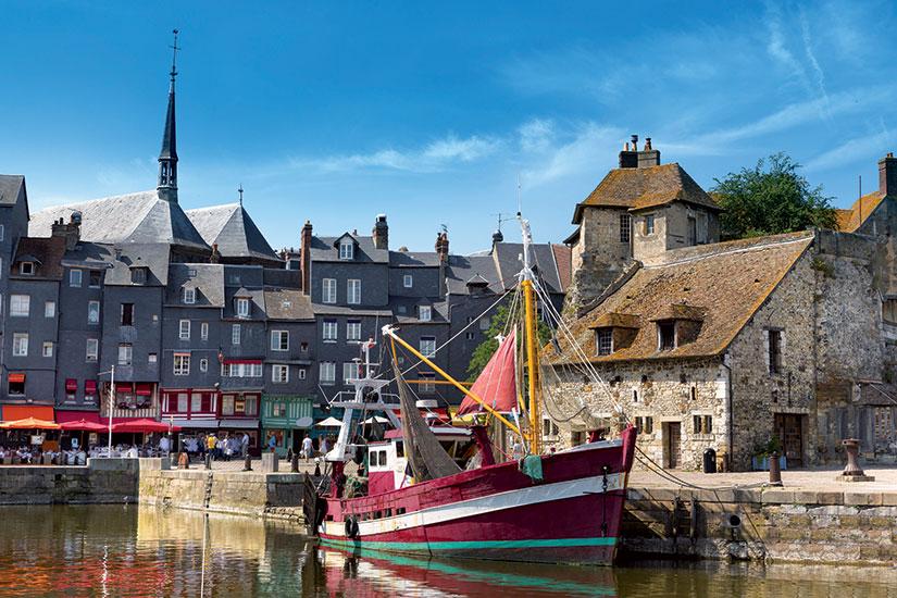 image France honfleur bateau