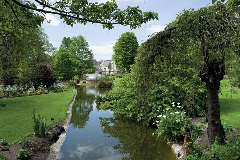 image France nantes jardin des plantes