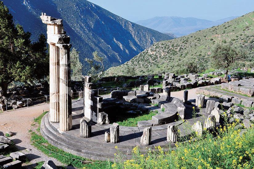 image Grece Athene Tholos de Marmaris  fo