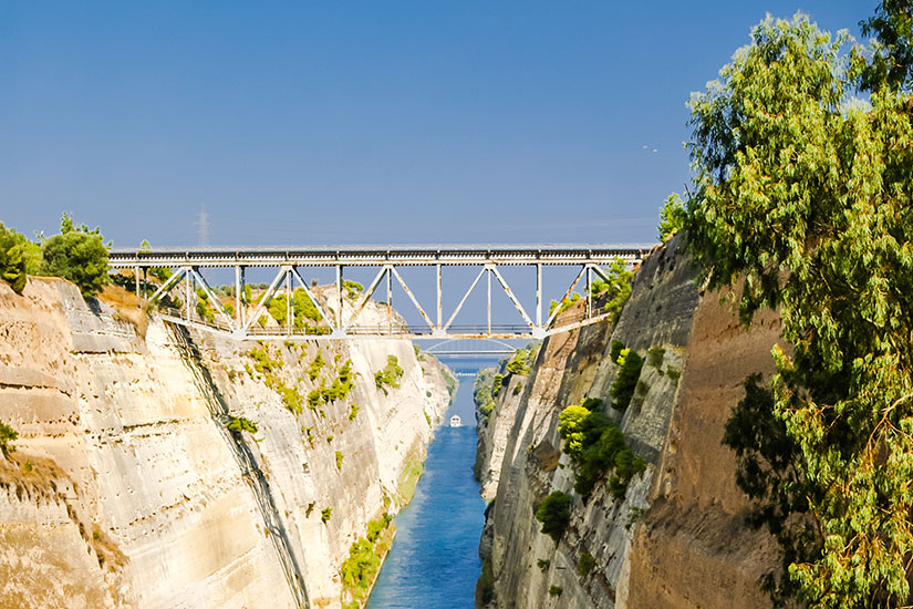 image Grece canal Corinthe  fo