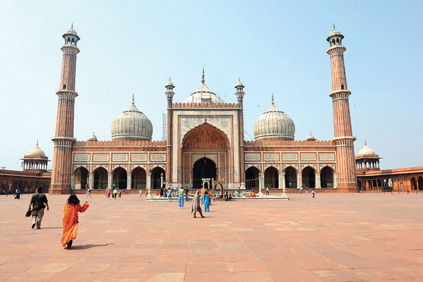image Inde Delhi Jamma Masjid  fo