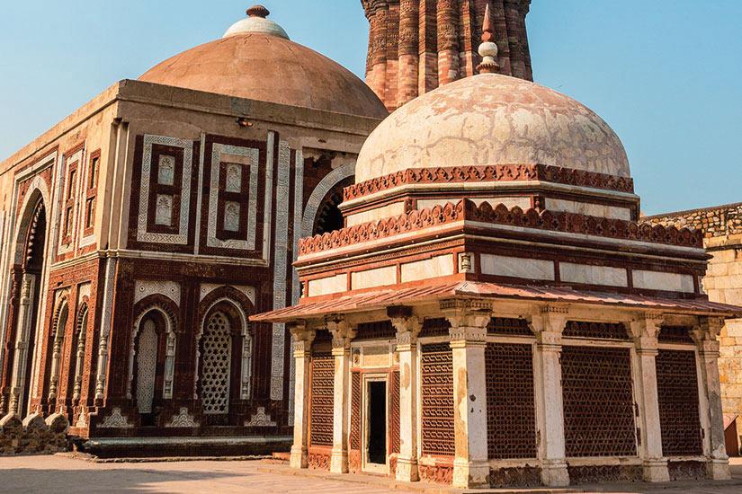 image Inde Delhi le minaret de Qutb Minar  fo