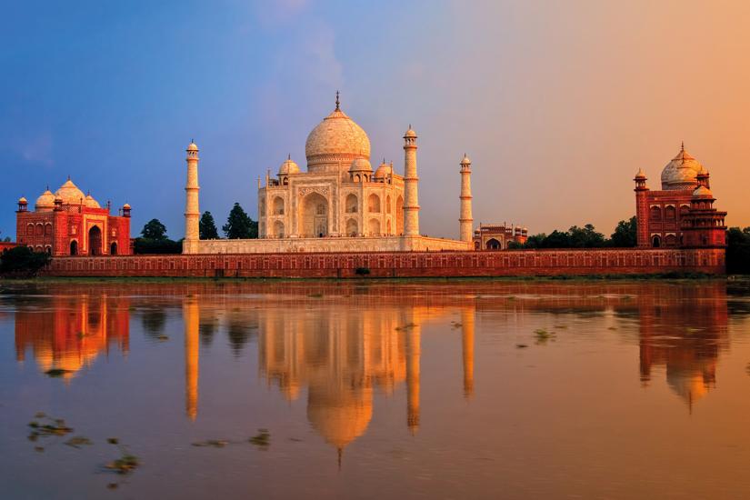 image Inde agra taj mahal coucher soleil 58 as_94826786