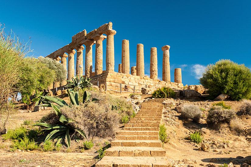 image Italie Agrigente Temple Junon  it
