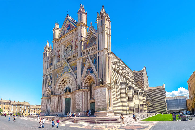 image Italie Ombrie Cathedrale Orvieto  fo
