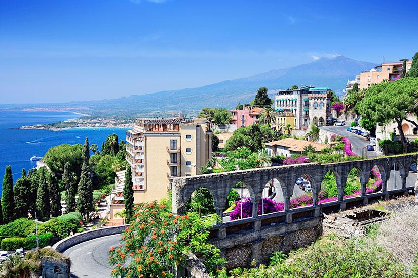 image Italie Sicile Taormina  it