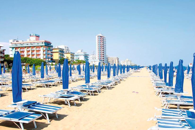 image Italie Toscane Lido Di Jesolo plage
