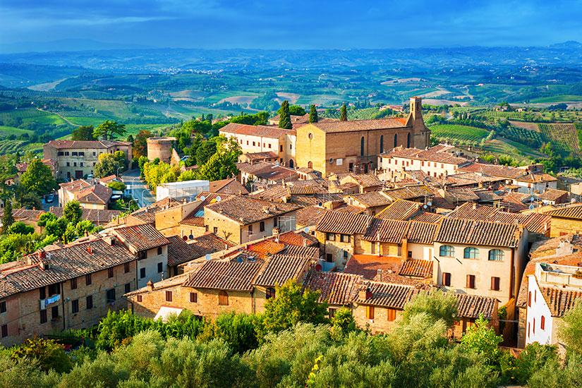 image Italie Toscane San Gimignano  fo