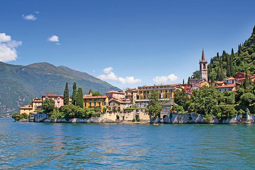 image Italie lac come  fo