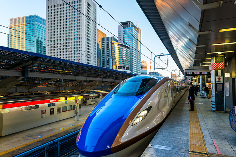 image Japon Tokio Shinkansen  it