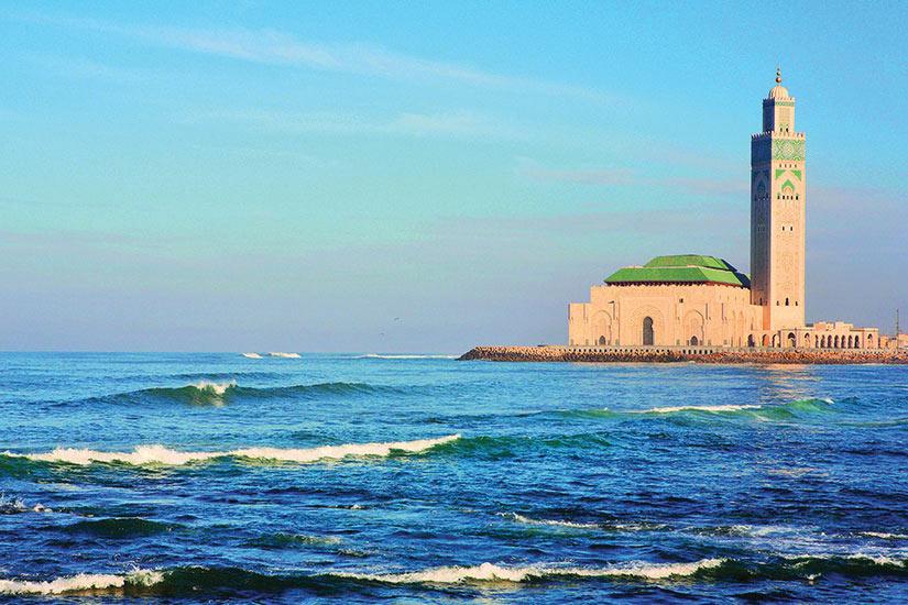 image Maroc Casablanca La mosquee Hassan II  it