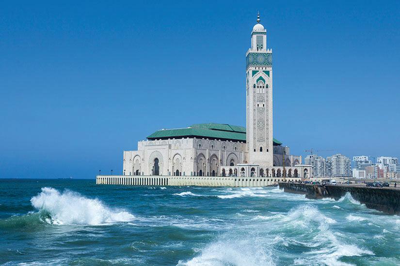 image Maroc Casablanca la Mosquee Hassan le plus grande au Maroc  it