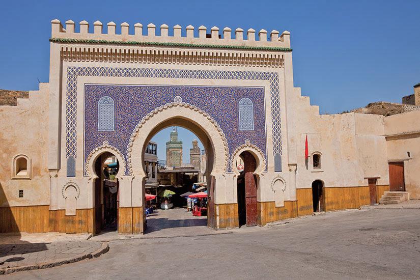 image Maroc Fes Bab Boujeloud  it