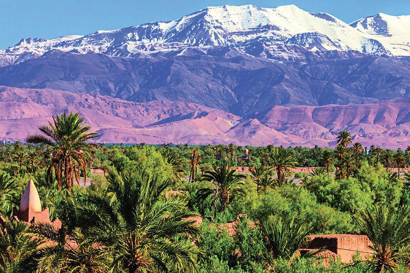 image Maroc Oasis et Haut Atlas mouintain gamme  it