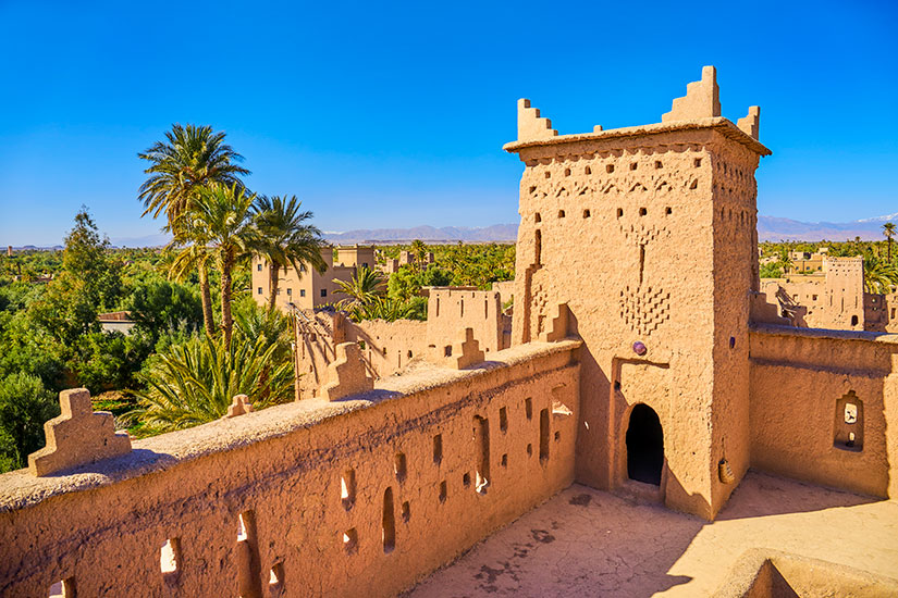 image Maroc Ouarzazate Casbah Amahidil  it