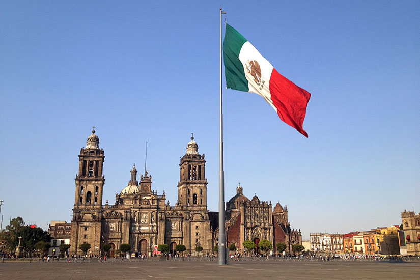 image Mexique Mexico Zocalo  it