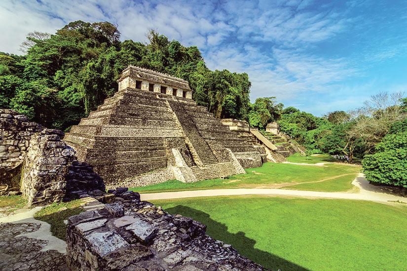 image Mexique Palenque Temples en Palenque  fo