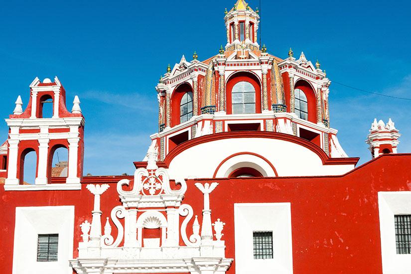 image Mexique Puebla Eglise Santo Domingo  it