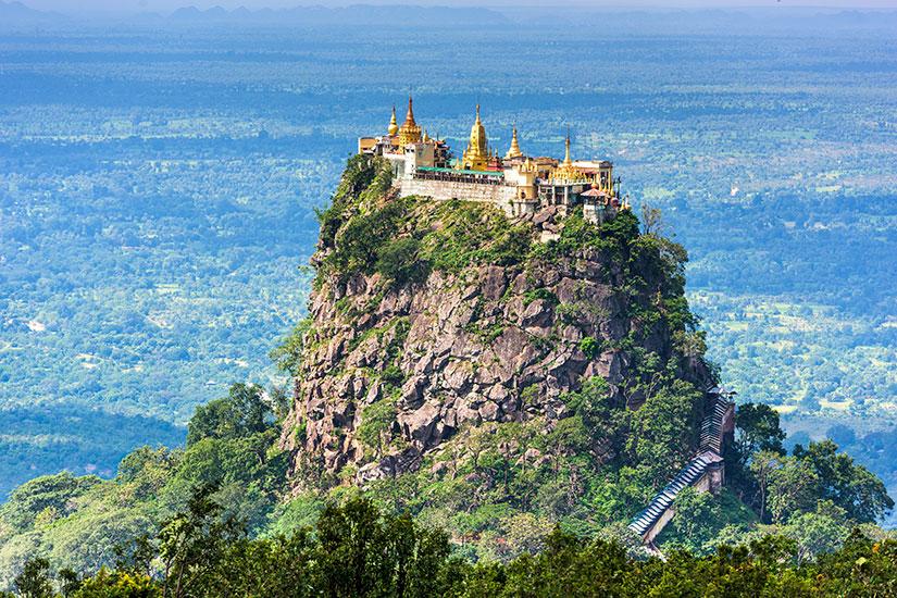 image Myanmar Mandalay Mount Popa  fo