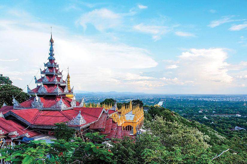 image Myanmar Mandalay Panorama  fo