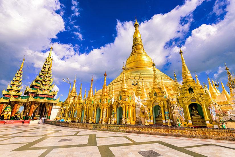 image Myanmar Yangon pagode Shwedagon  fo