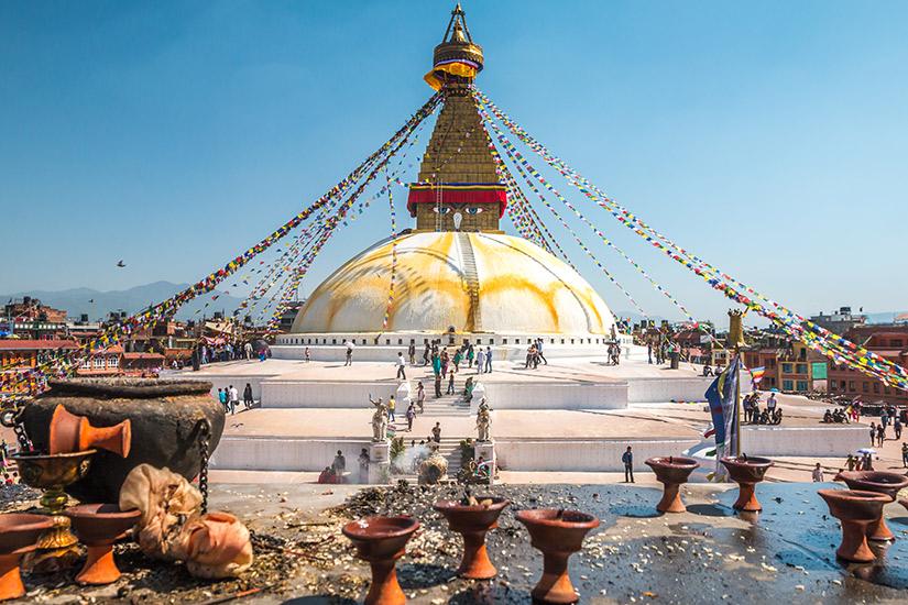 image Nepal katmandou stupa  it