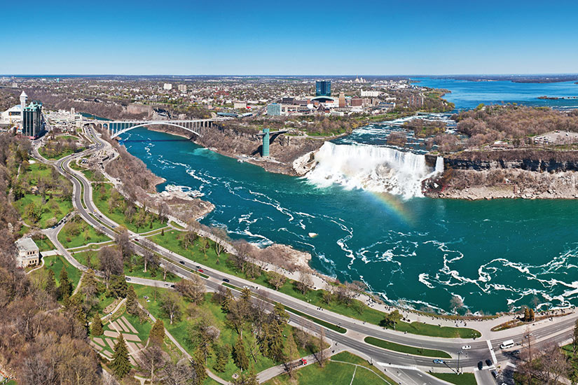 image Niagara panorama of the niagara Falls  fo