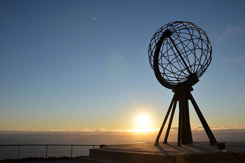 image Norvege Cap Nord Monument  it