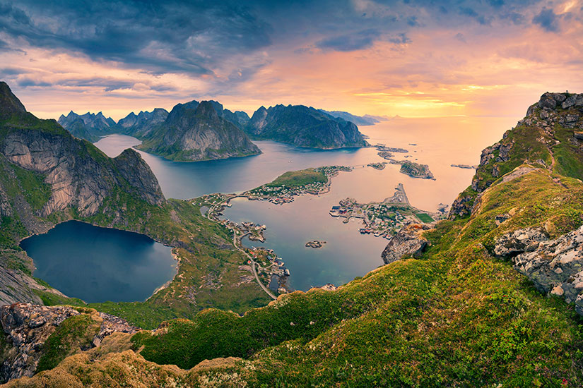 image Norvege Fjord Paysage  it