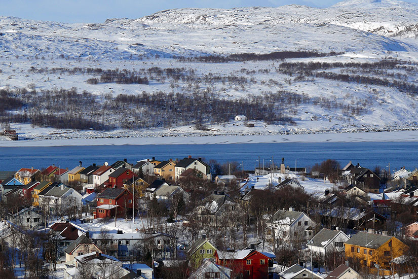 image Norvege Kirkenes panorama  fo
