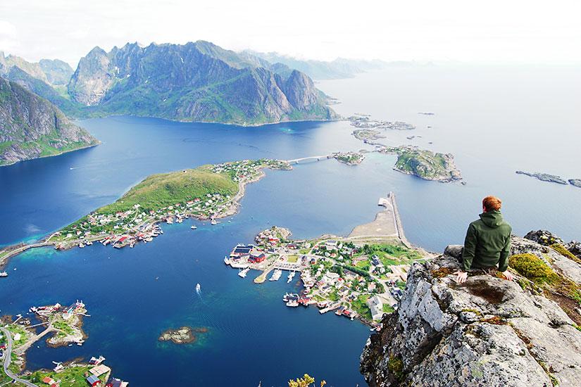 image Norvege Lofoten Nature  it